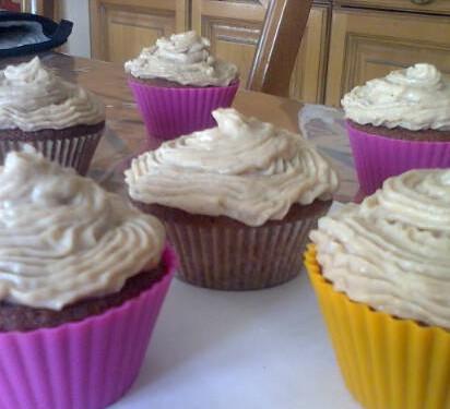 Cupcakes crème de marron de Mélanie Molinier