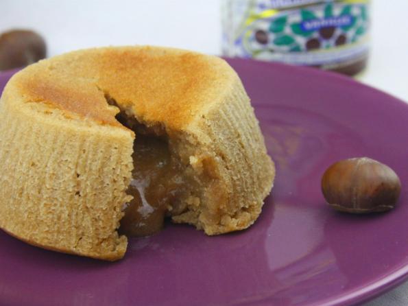 recette du Mi-cuit à la crème de marron