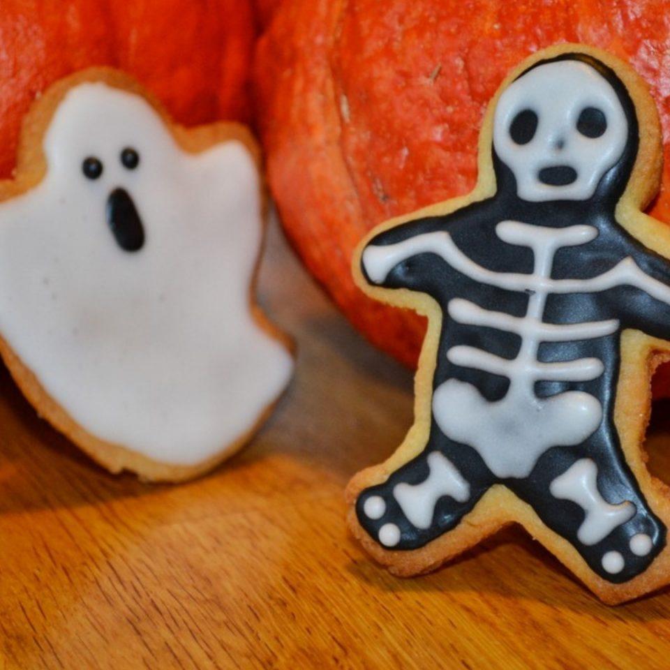 recette des biscuits d'halloween