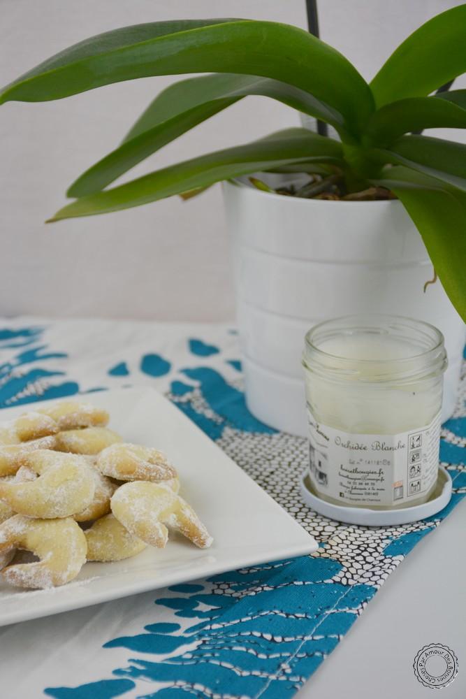 Croissant à la vanille