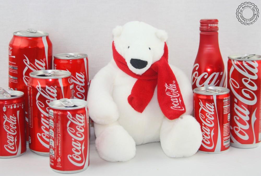 Bouteilles de Coca-Cola