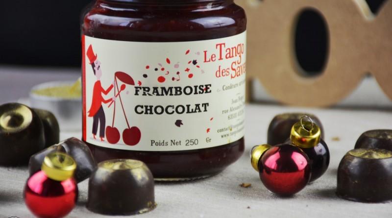 bonbons au chocolat/framboise