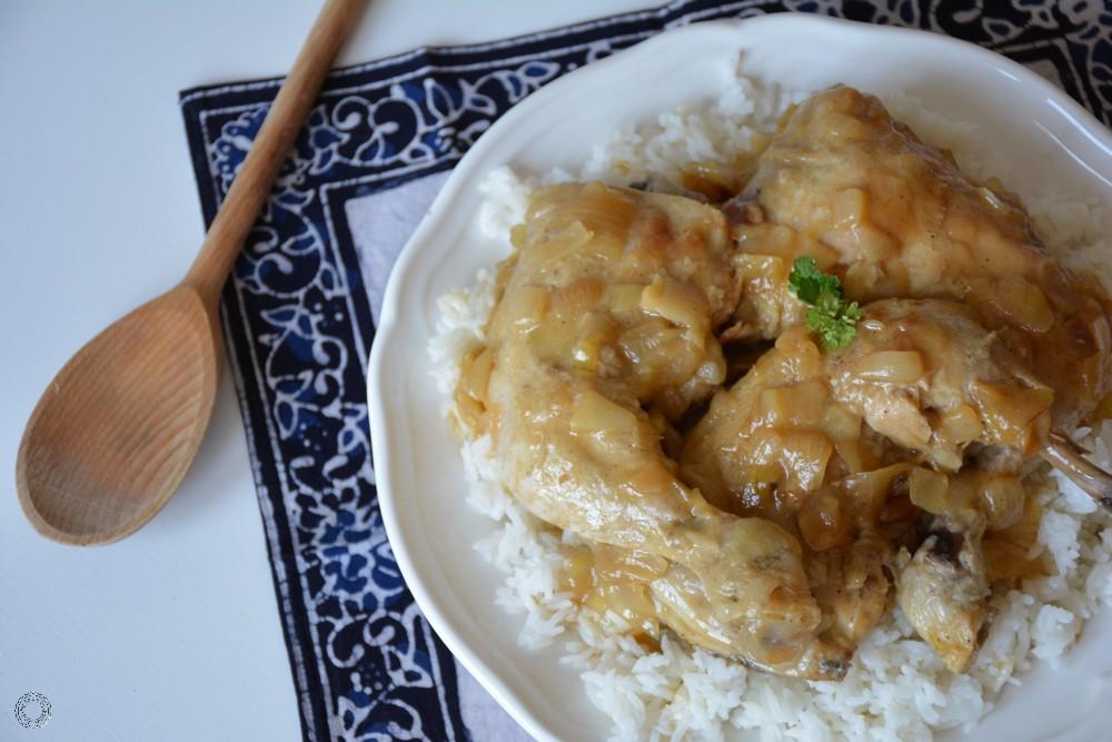 poulet yassa sénégalais