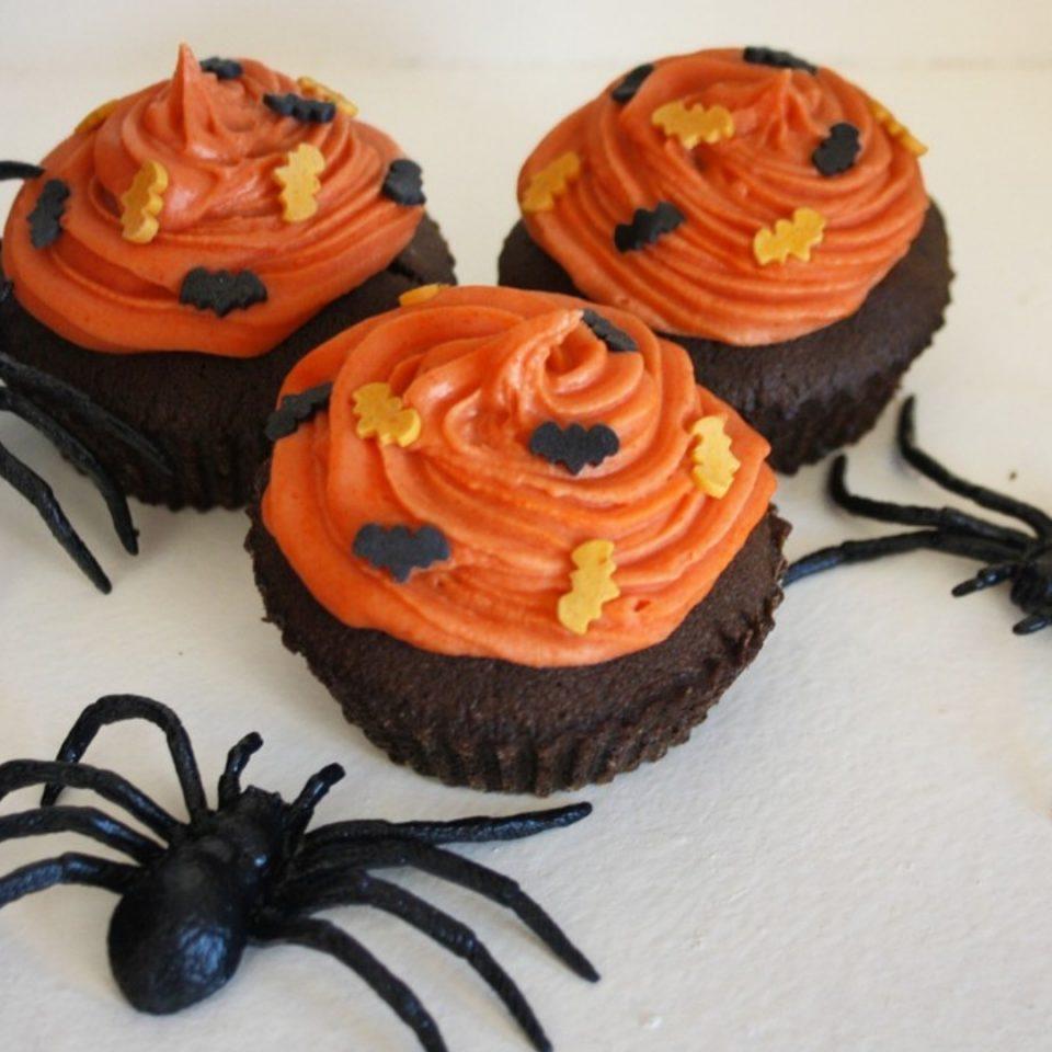 recette des cupcakes aux 2 chocolats spécial halloween