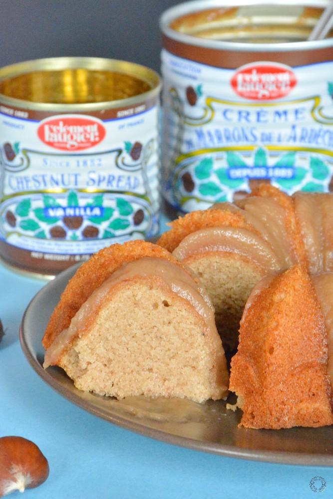 recette du bundt cake à la crème de marron
