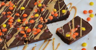 recette du brownie au chocolat et reese's pieces