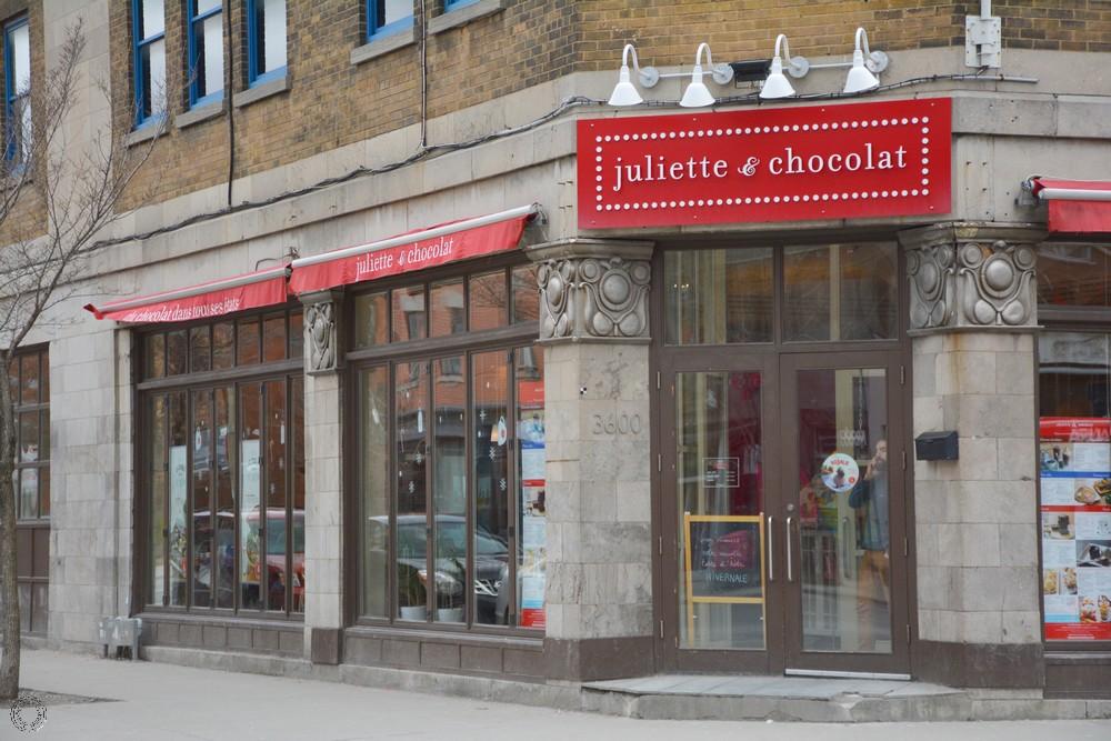 Juliette & Chocolat Montréal