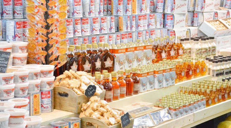 produits à base de sirop d'érable