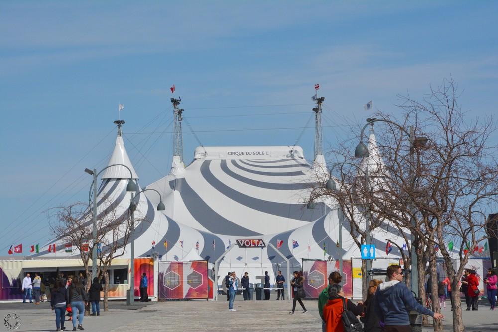 Cirque du soleil Montréal