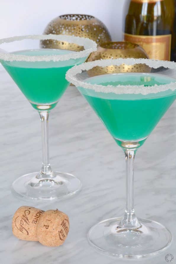 cocktail bleu piscine