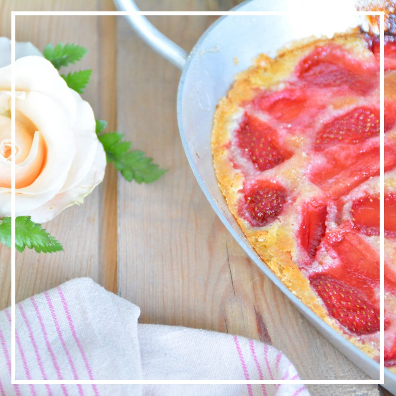 cobbler aux fraises