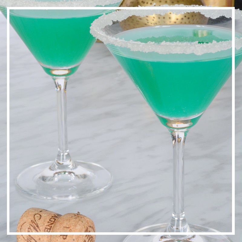 cocktail bleu piscine