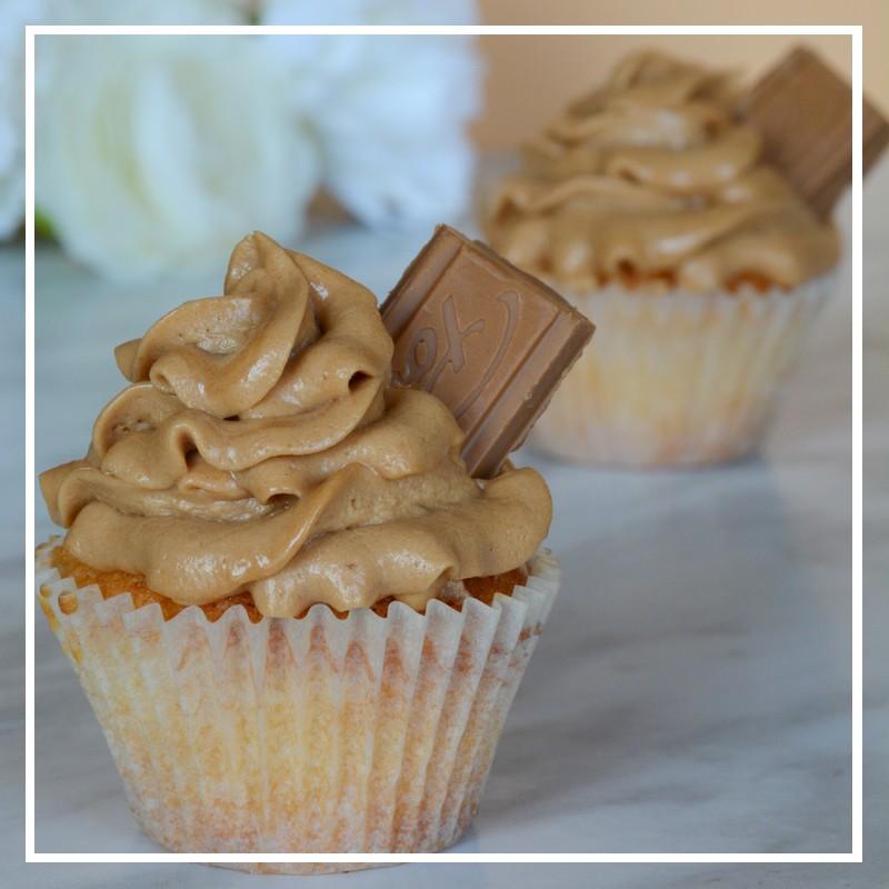 cupcakes pralinoise