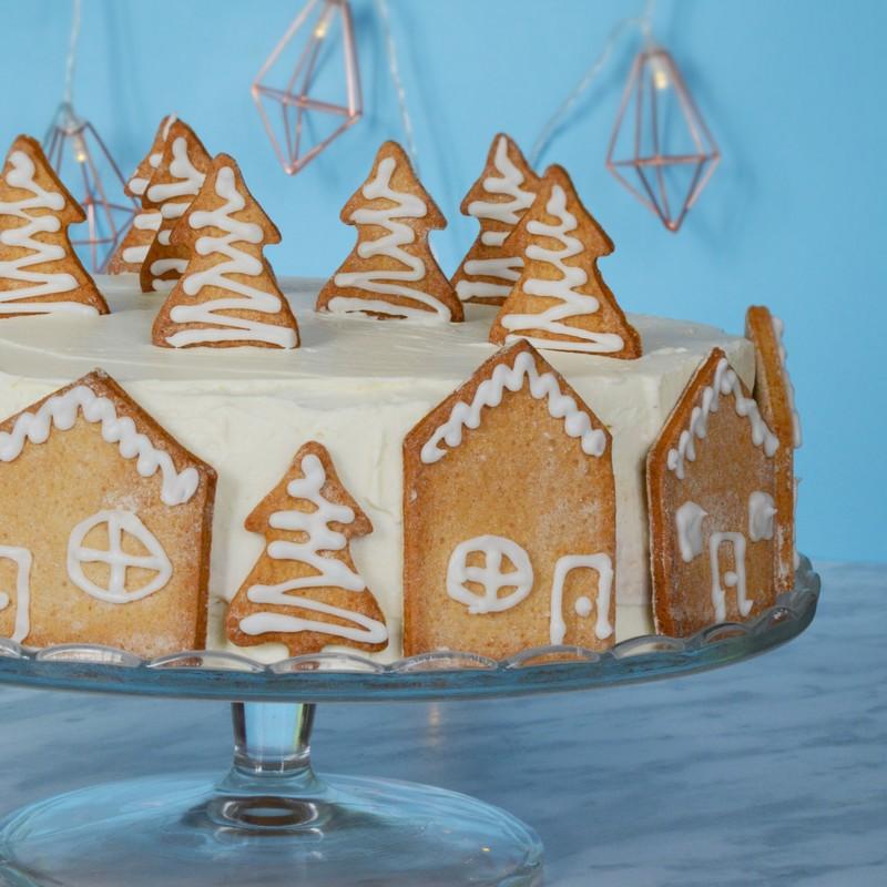 gâteau des neiges au marron et chocolat