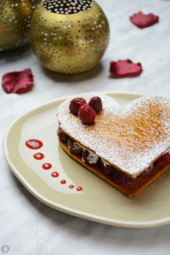 Dessert express de la Saint-Valentin