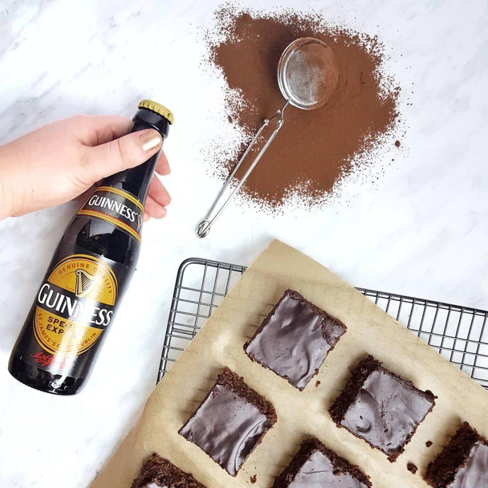 brownie à la guinness