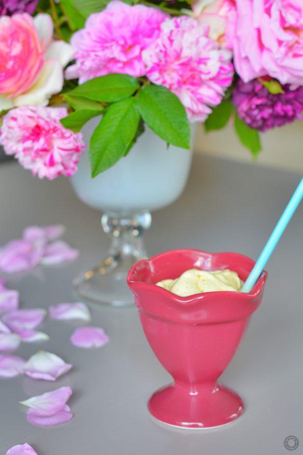 glace à la vanille