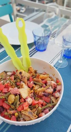 recette  de la Salade de poulpe épicée