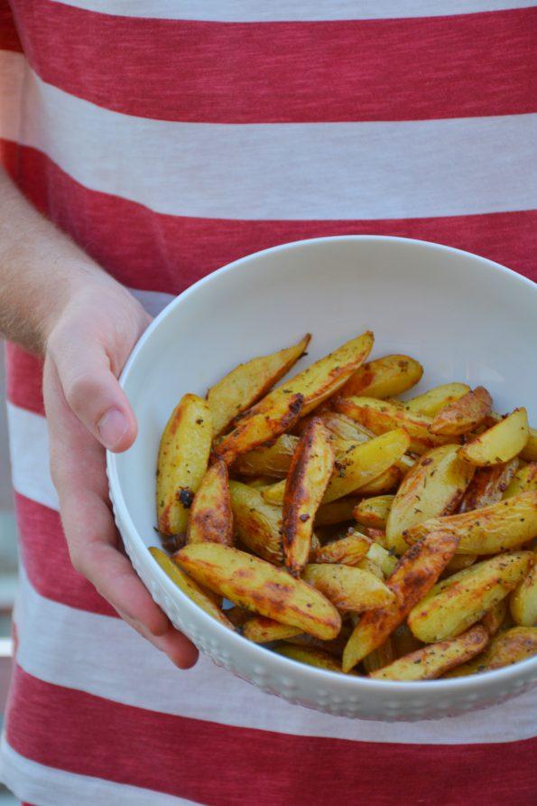 recette des potatoes maisons