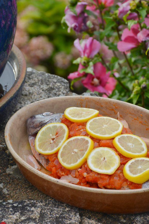 recette de la Dorade royale à la provençale