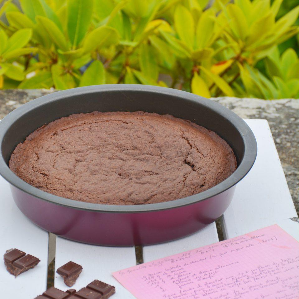 recette du Gâteau Baty au chocolat