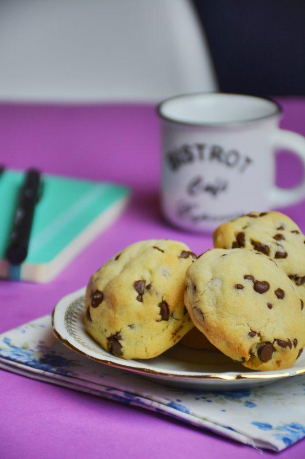Cookies pépites de chocolat façon levain bakery