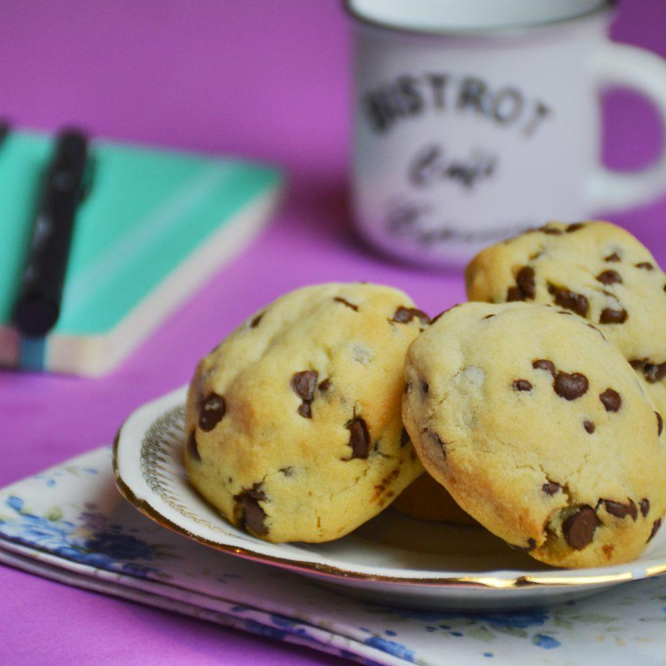 recette des Cookies pépites de chocolat façon levain bakery