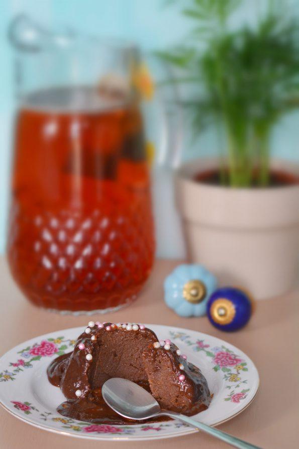 recette de Mug cake coulant chocolat crème de marron