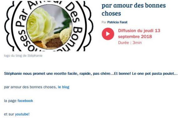 réécouter la Chronique France bleu pays d'Auvergne #1