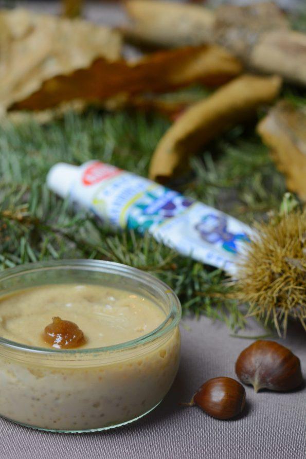 recette des crèmes dessert à la crème de marron