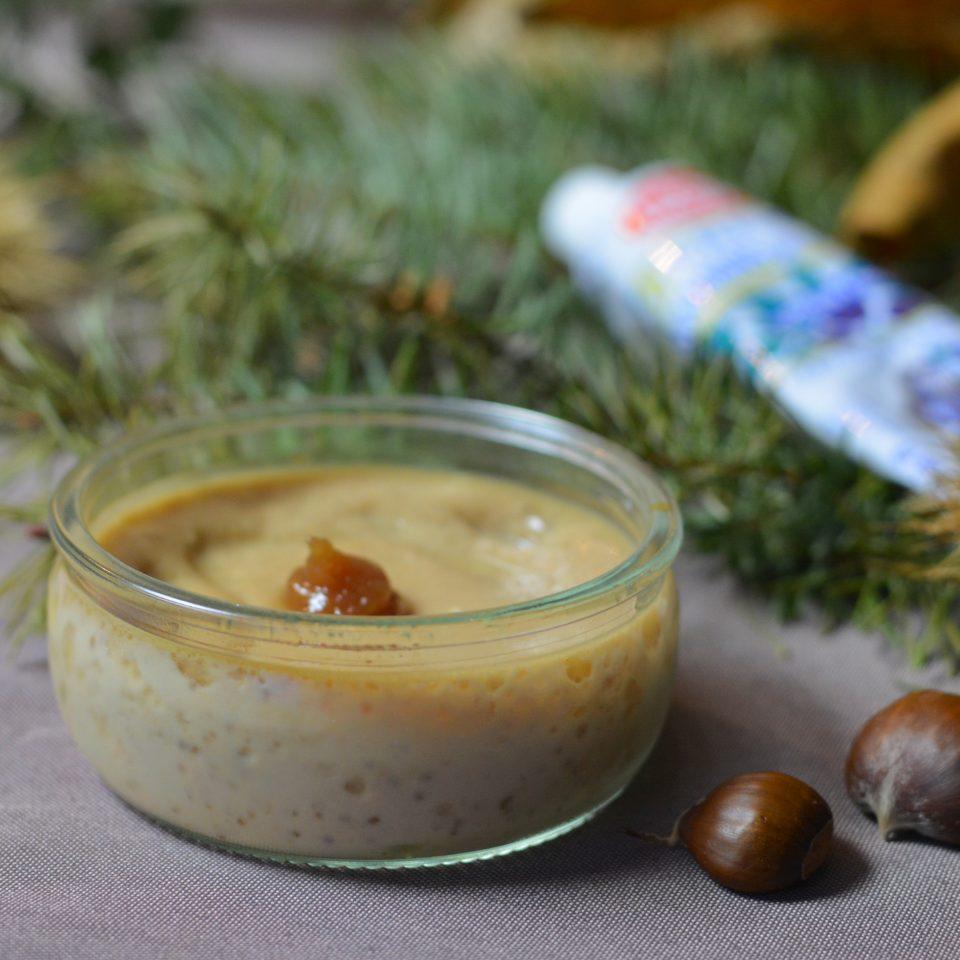 recette des crème dessert à la crèmes de marron