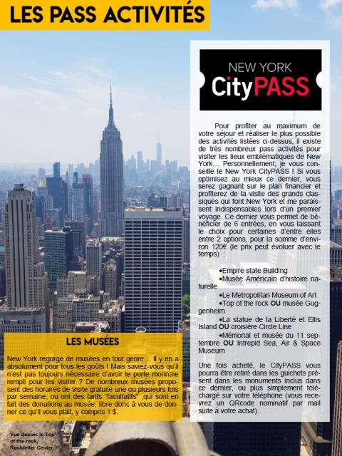 Guide de voyage New York gratuit