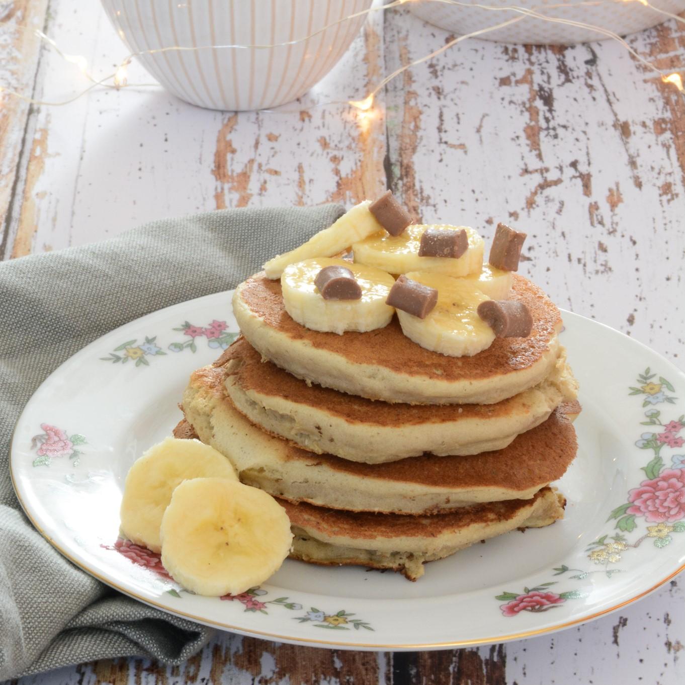 recette de pancakes à la banane