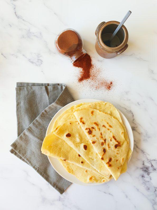 recette de Tortillas de blé