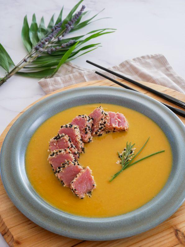 recette de tataki de thon